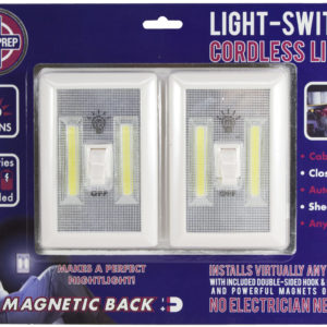Light Switch Cordless Light Front