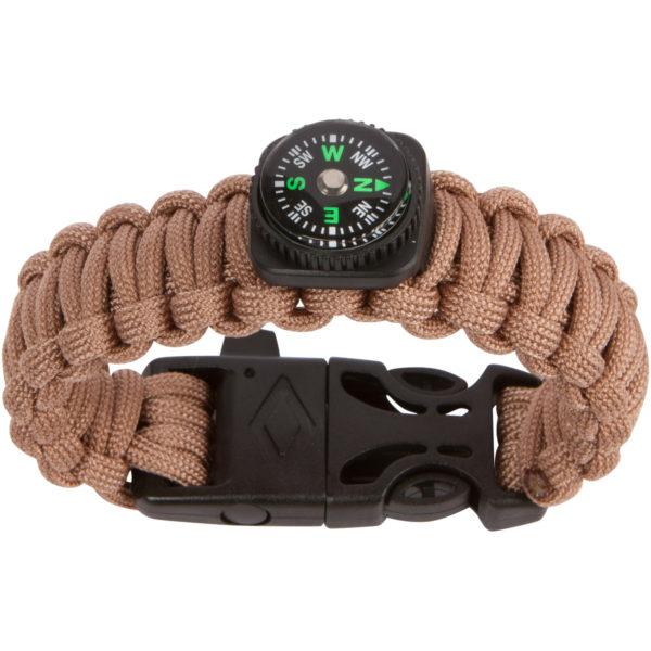 tan-Paracord-Compass-Bracelet-Fire-Starter-Survival3